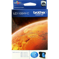 Brother LC1100HYC Ink Cartridges Cyan LC-1100HYC-0