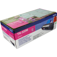 Brother TN320M Toner Cartridge Magenta-0