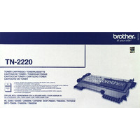 Brother TN2220 Toner Cartridge Black TN-2220-0