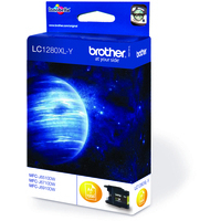 Brother LC1280XLY Ink Cartridge Yellow LC-1280XLY-0