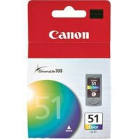 Canon CL-51 Ink Cartridge Tri-Colour CL51 0618B001-0