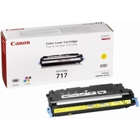 Canon 717Y Toner Cartridge Yellow CRG-717Y 2575B002AA-0
