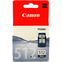Canon PG-512 Ink Cartridge Black High Capacity PG512 2969B001AA-0