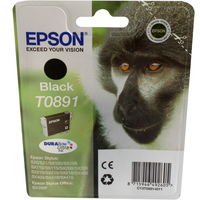 Epson T0891 Ink Cartridge Black C13T089140-0
