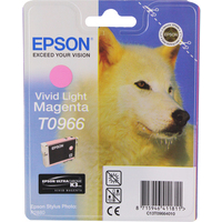 Epson T0966 Ink Cartridge Light Magenta C13T096640-0