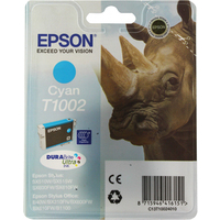 Epson T1002 Ink Cartridge Cyan C13T100240-0