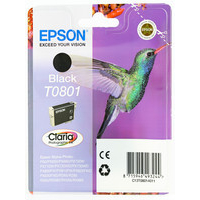 Epson T0801 Ink Cartridge Black C13T080140-0