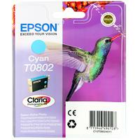 Epson T0802 Ink Cartridge Cyan C13T080240-0