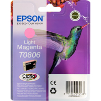Epson T0806 Ink Cartridge Light Magenta C13T080640-0