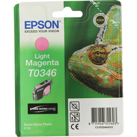Epson T0346 Ink Cartridge Light Magenta C13T034640-0
