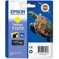 Epson Stylus Photo T1574 Ink Cartridge Yellow C13T15744010-0