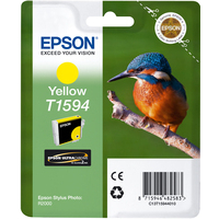Epson T1594 Ink Cartridge Yellow C13T15944010-0