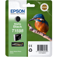 Epson T1598 Ink Cartridge Matte Black C13T15984010-0