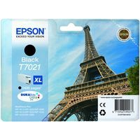 Epson T7021 Ink Cartridge High Yield Black C13T70214010-0