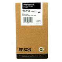 Epson T6031 Ink Cartridge Photo Black C13T603100 High Capacity-0