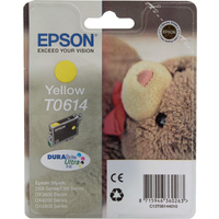 Epson T0614 Ink Cartridge Yellow C13T061440-0