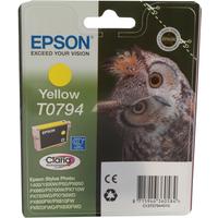 Epson T0794 Ink Cartridge Yellow C13T079440-0