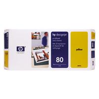 HP C4823A Print Head Cleaner Yellow C4823A 80-0