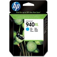 HP C4907AE Ink Cartridge Cyan HPC4907AE C4907A 940 XL-0