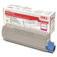 Oki 43324422 Toner Cartridge Magenta-0
