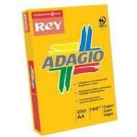 Adagio Card A4 160gsm Bright Blue Pk250 ABBE2116-0