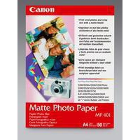 Canon Matt Photo Paper A4 170gsm Pk50 MP-101-0