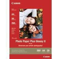 Canon Photo Paper Plus Glossy PP-201 13x18cm 260gsm Pk20-0