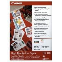 Canon High Resolution Inkjet Paper A4 106gsmPk200 HR-101A4-0
