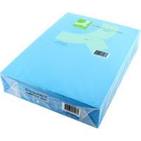 Q-Connect Coloured Copier Paper A4 80gsm Bright Blue Pk500-0