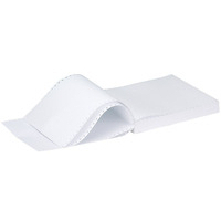 Q-Connect Listing Paper 11 inches x241mm 2-Part NCR Plain 60gsm Pk1000 KF02708-0