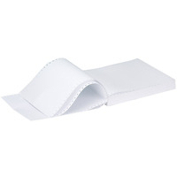 Q-Connect Listing Paper 11 inches x370mm 1-Part 70gsm Music Ruled 70gsm Pk2000 50073-0