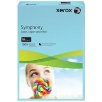 Xerox Symphony Paper A4 80gsm Medium Tints Mid Blue Pk500 003R93968-0
