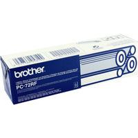 Brother PC 72RF Fax Cartridge Ink Ribbon Film Pk2 PC72RF T104 T106-0