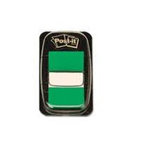 3M Post-it Index Tab 25mm Green 680-3-0