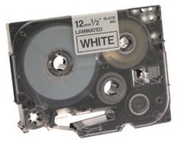 Brother P-Touch Tape TZ231 12mm Labels Black on White TZ-231-0