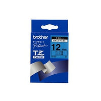 Brother P-Touch Tape TZ531 12mm Labels Black on Blue TZ-531-0