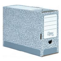 R-Kive Transfer Files System 123mm Grey White Fellowes 01805 Pk20-0