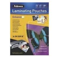 Fellowes Laminating Pouch A4 Self Adhesive 160micron Enhance 53022-0