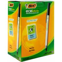 Bic Ecolutions Medium Ball Point Pen Black 893239-0