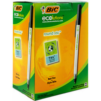 Bic Ecolutions Medium Ball Point Pen Black 893239-0