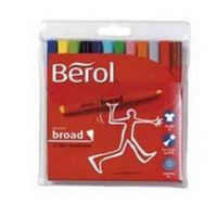 Berol Colourbroad Pen Assorted Water Based Ink Tub of 42 CBT S0375970-0