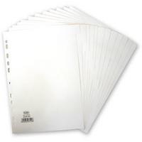 Elba Divider A4 12-Part 160gsm White 400007502-0