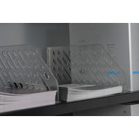 Bisley Shelf Divider 6 inches High Grey Pack of 5 BSDP5-0