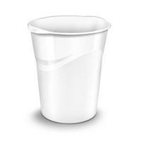 CEP Pro Gloss Waste Bin White 280G-0