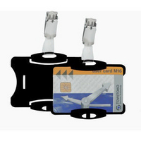 Durable Security Pass Holder Pk25 Black 8118/01-0