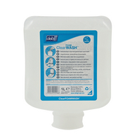 DEB Clear Foam Wash 1L Cartridge Pk6 CLR1L-0