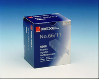 Rexel Staples No66/11 11mm Pk5000 06070