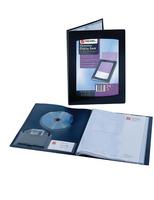 Black Q Connect 10-Pocket Display Book
