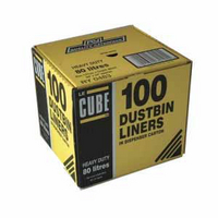 Le Cube Dustbin Liner Dispenser Pk100 0483