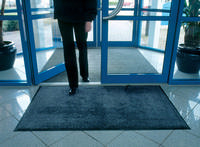 Entrance Mat Washable 1150x1750mm Black/Blue 312468